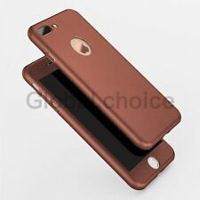 Luxury Hard PC Newest 360 Case + Temper Glass Shockproof Cover For iPhone 7 6 6S
