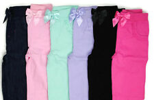 NEW GARANIMALS Girls Elastic Waist COTTON Pants 0-3 3-6 6-9 12 18 24 Months
