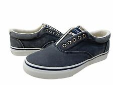 Sperry Top-Sider Mens Striper CVO Laceless Slip On Casual Boat Shoes Sneakers