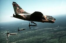 A-7 Corsair II Aircraft 76th Tactical Fighter Color Photo  Military A 7 USAF