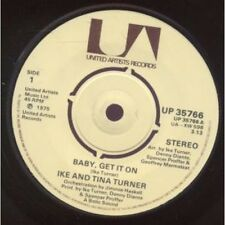 "IKE AND TINA TURNER Baby Get It On 7"" VINYL UK United Artists 1975 3.13 Version"