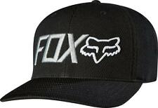 NEW FOX RACING MEN'S PREMIUM FLEXFIT SPORT TRUCKER HAT CAP BLACK size L/XL
