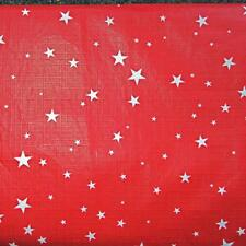 PATRIOTIC TABLECLOTH~Vinyl~Flannel Back~ALL SIZES~Flag/Picnic/Star/Red~NEW