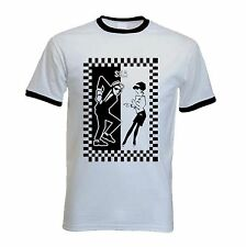 SKA T-SHIRT - 2 Tone Mod Specials Madness Skinhead Rude Boy - Sizes S to XXL