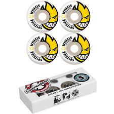 SPITFIRE Skateboard Wheels BIGHEAD with INDEPENDENT ABEC 5 Bearings