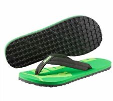 New Junior Puma Green & Black Epic Flip V2 Flip Flops Size 3 Boys, Girls, Ladies