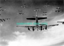 B-17 Flying Fortresses  398th Bombardment Group Photo Military  WW2 WWII 1945