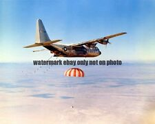 USAF JC-130B Photo Military  C-130 AIR FORCE AIR COMBAT WAR PLANE JET VET