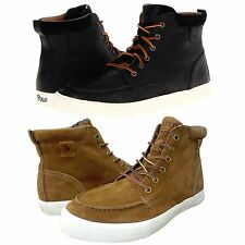 Polo Ralph Lauren Mens Tedd Lace Up High Fashion Ankle Boots Sneakers Shoes