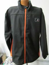 Philadelphia Flyers Mens XL & 2XL Full Zip Embroidered Soft Shell Jacket FLY 16