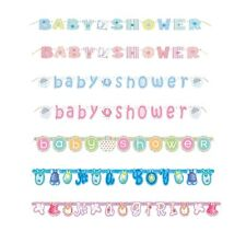 Baby Shower Jointed Letter Banner Long 1.57 m (Boy/Girl/Card/Party/Decoration)