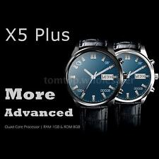 X5 Plus Smartwatch Phone 3G 1.39'' MTK6580 Quad-core Android 5.1 1GB/8GB US A7Z3