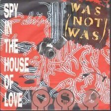 """WAS NOT WAS Spy In The House Of Love 7"""" VINYL UK Fontana 1987 Red Pic Sleeve"""