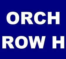 Sturgill Simpson tickets Saint Louis The Fabulous Fox Theater 9/21 ORCH 3, ROW H