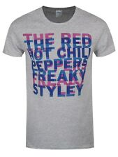 Red Hot Chili Peppers Freaky Styley Offset Men's Heather Grey T-shirt