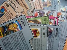 GI Joe A Real American Hero 1980s 1990s Vintage Action Figure File Cards Choice