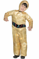 Star Wars Premium C-3PO Child Costume Halloween New Kids Droid SM or LG C3PO
