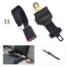 Car 2 Point Retractable Seat Safety Lap Belt Strap Buckle Adjustable Security