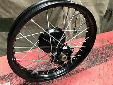 Harley Davidson MT350 Rear wheel assembly New old stock