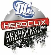 HeroClix Arkham Asylum Miniature Figures Game Pieces DC Comics Wizkids NECA