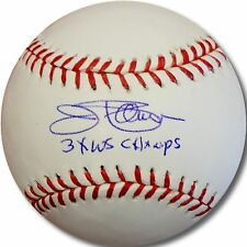 Jim Palmer Hand Signed Autograph Major League Baseball 3x WS Champs