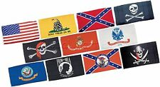 Flag 3' x 5' 100% Polyester Construction 2 Brass Grommets Hanging Display Sign