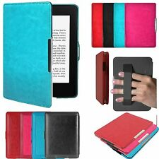 Sleep/Wake Magnetic Leather Smart Case Cover For Amazon Kindle Paperwhite/Kindle