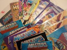 Masters of the Universe Vintage MOTU He-Man Mini Comic From Action Figure Choice