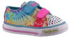 NEW Girls Youth SKECHERS TWINKLE TOES PEACE & LOVE 10383 LIGHTS Athletic Shoes