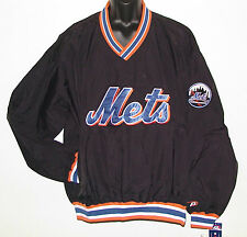 Vintage 90's New York METS Pullover Windbreaker SEWN Letters NWT NEW Old Stock