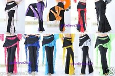 Brand New Sexy Yoga And Belly Dance Lace Pants Free Shipping