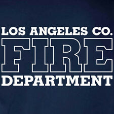 Los Angeles County Fire Department T-shirt – Short/Long Sleeve Sizes S to 5XL
