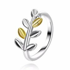 2017 Fashion 925 European Sterling Leisure Style Silver Ring Fit Women Size 6-9
