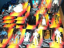 Star Wars Power Of The Force II 2 RARE RED CARD Carded Figures 1995 1996 Kenner