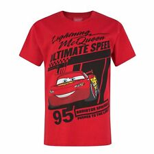 Cars Childrens/Boys Official Lightning McQueen T-Shirt