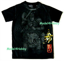 EMPEROR ETERNITY T-Shirt Black Sz M L XL SAMURAI LION SWORD GOLD RED FOIL TATTOO