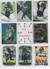 Seattle Seahawks BLOWOUT Lot #2 - Serial #'d ROOKIES - AUTOS - JERSEYS -  U-PICK