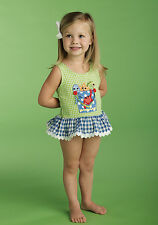 Mud Pie Baby BUCKET SWIMSUIT 173650 Boathouse Mud Pie Baby Collection