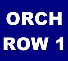 The National tickets Vancouver Queen Elizabeth Theatre 12/2 ***ORCH, ROW 1!***