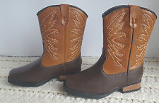 Smart Fit Western Cowboy Boots Toddler Girls Color/Size Choice