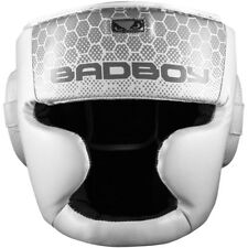Bad Boy Legacy 2.0 Protective MMA Sparring Training Headgear - White