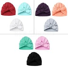 3Pcs Newborn Baby Infant Girl Boy Toddler Comfy Bowknot Hospital Cap Beanie Hat