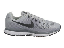 NEW MENS NIKE AIR ZOOM PEGASUS 34 RUNNING SHOES TRAINERS PURE PLATINUM / ANTHRAC