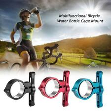Bicycle Water Bottle Cage Mount Holder Alloy Handlebar Seat Post Rack S8N9