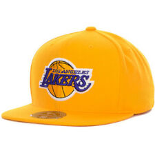Los Angeles Lakers fitted hat Mitchell & Ness new with stickers NBA LA