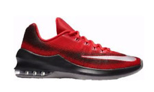 NIKE AIR MAX INFURIATE LOW RED BLACK 2017 MENS BASKETBALL SHOES **FREE POST AUST