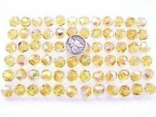 Swarovski 39 Light Topaz AB Various Sizes Vintage Crystal Beads