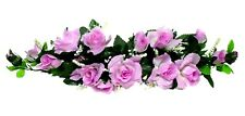 Rose Swags ~ MANY COLORS ~ Silk Wedding Flowers Chuppah Arch Gazebo Centerpiece