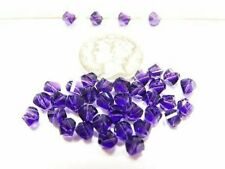 Swarovski 5020 Purple Velvet Various Sizes Faceted Crystal Beads
