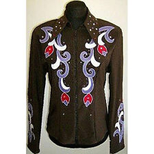 5402 Ladies Chocolate Horse Show Jacket from 1849 Ranchwear NEW